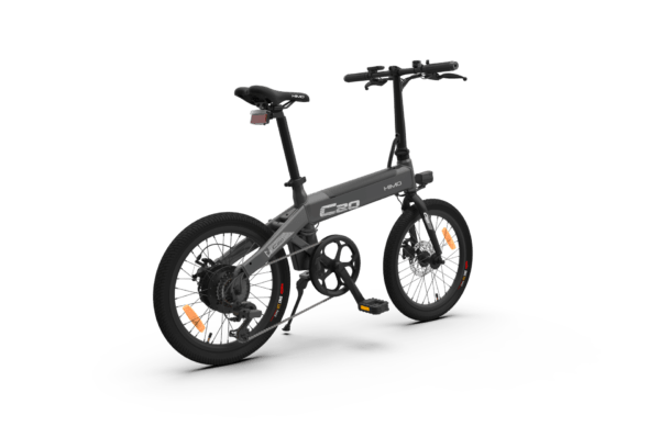 Sähköpyörä Himo C20 Harmaa takaviisto