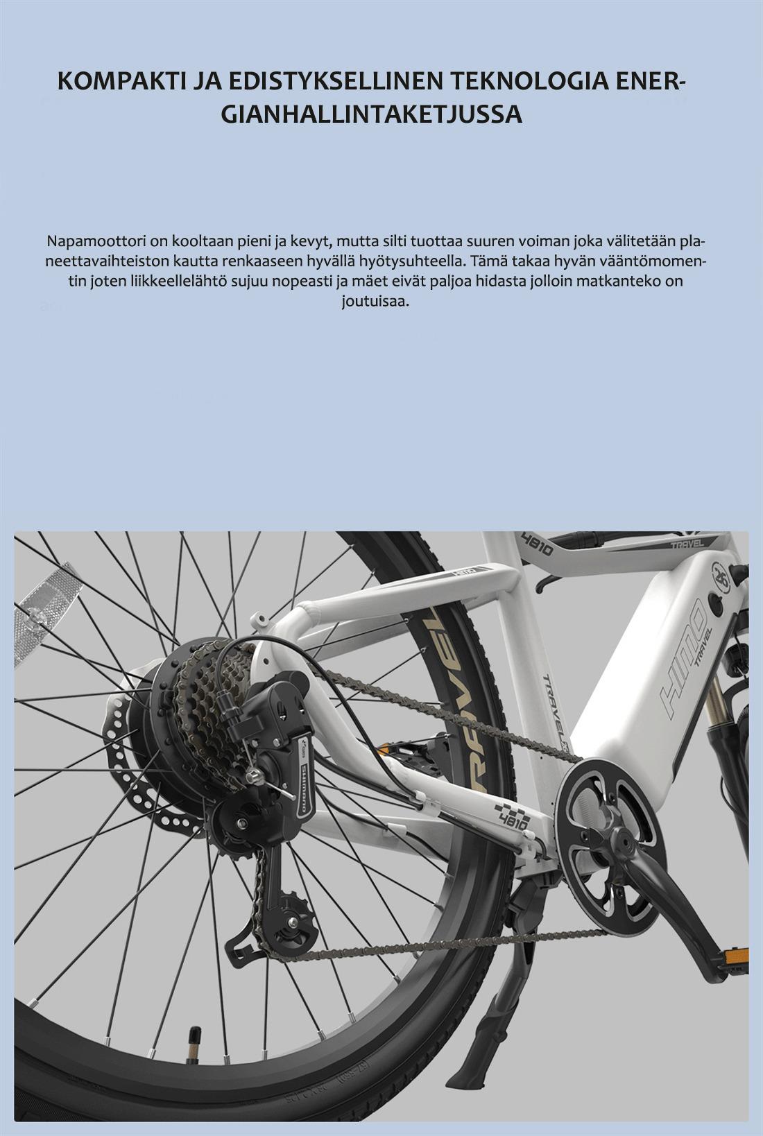 Himo-sähköpyörän-vaihteet
