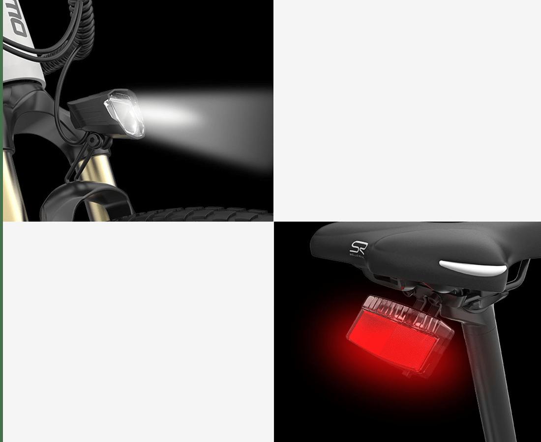 Himo sähköpyörä valot