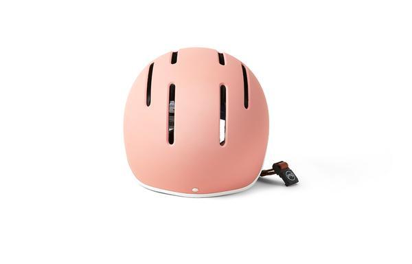 Thousand Junior Power Pink lasten pyöräilykypärä takaa