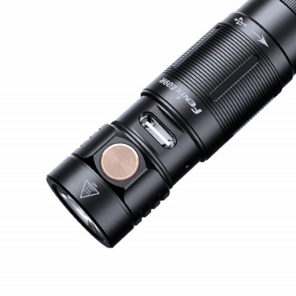 Fenix E09R minilamppu USB C